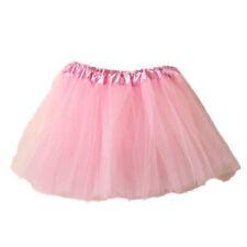 Women Princess Ballet Tulle Tutu Skirt Wedding Prom Rockabilly Mini Dress CA