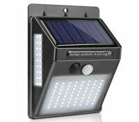LED lumière solaire extérieure jardin PIR capteur de mouvement lampe solaire