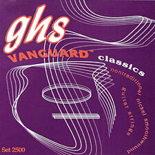 GHS VANGUARD CLASSICS Guitar Strings (Smooth Wound)