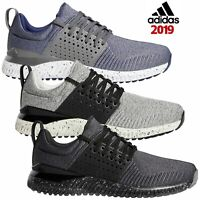Adidas 2019 Mens Adicross Bounce Spikeless Textile Cushioned Golf Shoes