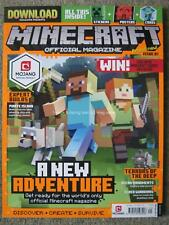 Minecraft Official Magazine First issue 1 2nd August - 5th September 2017 Mojang