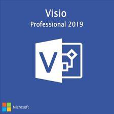 Microsoft Visio 2019 PRO Professional Original MS Pro ESD Download