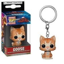 Captain Marvel - Goose the Cat Pop! Keychain IN STOCK