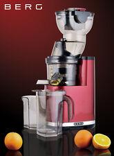 BERG J PRO 250W Slow / Masticating WHOLE Juicer RRP £299 ***45% OFF***
