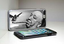 Alfred Hichcock aves cigarro BW Teléfono Caso/Cubierta iPhone + Samsung
