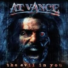 AT VANCE - THE EVIL IN YOU (RE-RELEASE)  CD NEW!