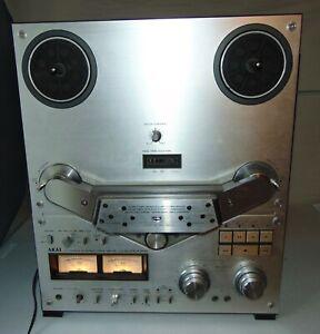 Vintage AKAI GX-635D REEL TO REEL TAPE DECK Powers Up