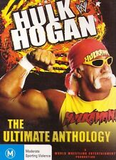 HULK HOGAN The ULTIMATE ANTHOLOGY Hulkamania WWE Wrestling (3 DVD SET) Region 4