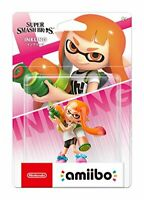 Nintendo amiibo Inkling Girl Super Smash Bros. Smash Brothers Series 40543 JAPAN