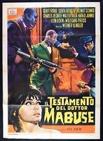 Manifesto The Testament Del Dottor Mabuse Frobe Berger Klingler M27