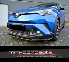Cup Spoilerlippe für Toyota C-HR Frontspoiler Spoilerschwert Spoiler Frontlippe