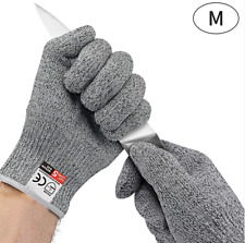 Level 5 Cut Resistant Gloves High Performance Protection Safety BBQ Gloves M