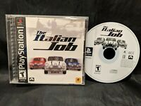 The Italian Job (Sony PlayStation 1, 2002) PS1, COMPLETE