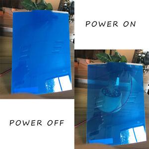 5 Colors PDLC Electrochromic Film Smart Film Starter Kit Switchable Glass