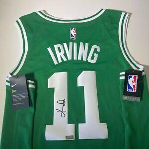 Panini Authentic Kyrie Irving #11 Autographed Jersey Nike XL Boston Celtics