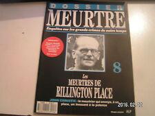 ** Dossier meurtre n°8 John Christie Les meurtres de Rillington Place