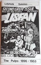 1980s Lisfan #2 Lost in Space Fanzine-Blueprints/Comics /Fiction/Article-Free Sh