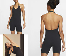 New NIKE Yoga Women's Infinalon Jumpsuit Luxe / Nike Yoga/ black /stretchy/ £54