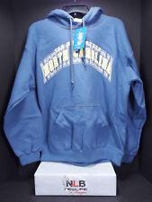 Manatee Bay Tar Heel State North Carolina Blue Pullover Hoodie Size Medium