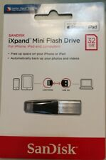 SanDisk iXpand 32GB USB 3.0 Flash Drive iPhone iPad Mac OTG Apple Lightning