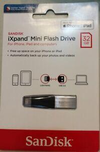 SanDisk iXpand 32GB USB 3.0 Flash Drive iPhone iPad Mac OTG Apple Lightning