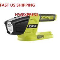Ryobi ONE+ P705 18-Volt  LED Flashlight, 130 lumens of light output, Bare Tool