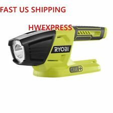 Ryobi ONE+ P705 18-Volt  LED Flashlight, 130 lumens of light output, Bare Tool
