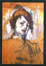 Henri de Toulouse-Lautrec : Tête de femme - riproduzione su cartolina