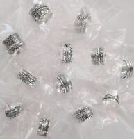 Wholesale Lot 50 Pes Solid 925 Sterling Silver Spinner Plated Ring Meditation