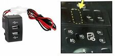 Cruscotto Doppio USB BABORDO CAMION CARICATORE uscita LED IVECO STRALIS