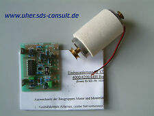 UHER 1020014 Motor-Umbausatz für REPORT MONITOR Tonbandgeräte *** NEU ***