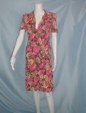 New listing Vintage Dress 1940's Tulip Print Day Dress