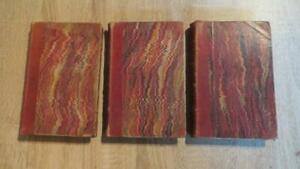 """1869 """"UP AND DOWN THE WORLD"""" RUSSELL GRAY (ELEANOR F LE FANU) -3 VOLS-  SCARCE"""