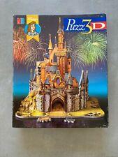 PUZZ 3D Le Château De La Belle Au Bois Dormant Disney's HASBRO MB PUZZLE 1997 FR