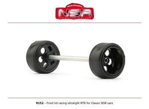 NSR 9152 Front Axle Kit Ultralight RTR for Classic NSR Cars