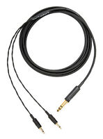 "Corpse Cable for FOCAL ELEAR / CLEAR / ELEX, SONY MDR-Z7 - 1/4"" Plug - 10ft"