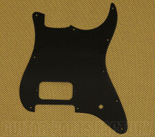 006-2373-000 Fender Squier Strat 10-Hole Black 1ply 1 Humbucker 1 Knob Pickguard