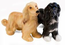 More details for afghan hound gift, cruet set handmade by blue witch