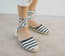Soludos Classic Striped Sandals Espadrilles size 7