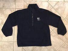 Blue Cross Blue Shield of MI Navy Blue Fleece Size Large 1/4 Zip bx24