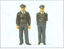 Preiser 63101 Police Standing, 1 Gauge, 1:3 2