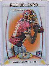 ROBERT GRIFFIN ROOKIE CARD 2012 Topps Platinum Football RC Cleveland Browns QB!