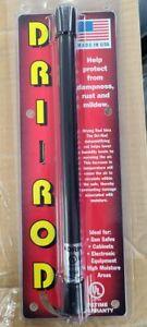 "Dri-Rod 12"" Dehumidifier Protects Gun Safe Boat RV from Humidity Moisture Mold"