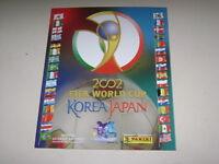 PANINI WORLD CUP KOREA JAPON 2002 ALBUM OFFICIAL REPRINT - 100% complete