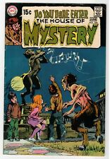 Dc - House Of Mystery #186 - Adams Cover, Wrightson Art - Vg+ 1970 Vintage Comic