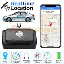 GPS Tracker Real Time Hidden Spy Car Truck Vehicles Tracking Device Magnetic