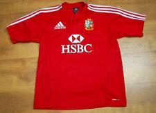 ADIDAS British Lions Sud Africa 2009 Tour AUTOGRAFATO Rugby shirt (Taglia XLB/S)