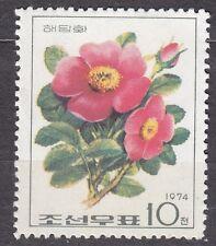 KOREA 1974 mint(*)  SC#1227  10ch, Wild Roses, Aronia sweet briar.