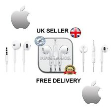 Genuine Apple iPhone Headphones Earphones White 5 5s 5c 6 6s SE Handsfree  MIC