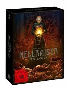 Hellraiser Trilogy - Deluxe Edition (4xBlu Ray+DVD) NEU/OVP